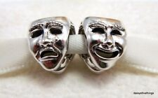 NEW! AUTHENTIC PANDORA SILVER CHARM THE WORLDS A STAGE THEATRE MASK #791177