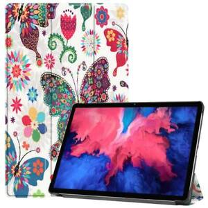 """For Lenovo Tab P11 Pro 11"""" 11.5"""" Tablet Smart Sleep Leather Stand Case Cover"""