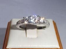 Handmade White Eternity Fine Rings