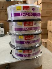 Maxell 16x DVD+R Media - 4.7GB - 100 Disc
