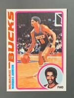 1978 Topps #126 Marques Johnson Rookie Milwaukee Bucks NM