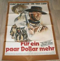 A1 Filmplakat - FÜR EIN PAAR DOLLAR MEHR , CLINT EASTWOOD,LEE VAN CLEEF