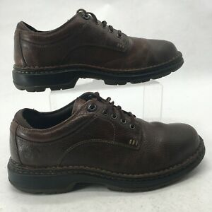 Timberland Men 9M Madison Summit Oxford Lace Up Casual Shoes Brown Leather 29511