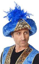 Orientalischer Pailletten Turban NEU - Karneval Fasching Hut Mütze Kopfbedeckung