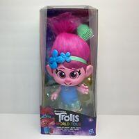 Hasbro DreamWorks Trolls World Tour Toddler Poppy Doll - New In Box Ships Fast!