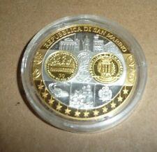 Argent 999 ‰ Médaille Europa Europe ; 1ère frappe Saint Marin : 2002 BE Ø 40 mm