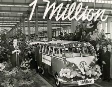 Samba VW Bus the 1 Millionth of assembly line celebration  8 x 10 Photograph