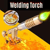 Flamethrower Burner Butane Gas Blow Torch Ignition Welding Camping BBQ