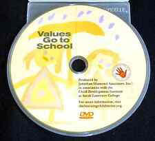 VALUES GO TO SCHOOL DVD The Learning Child Series Ethics >NEW<