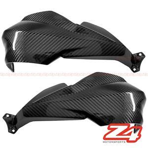 2004-2007 KTM 625 SMC SXC Carbon Fiber Front Handle Bar Protector Guard Fairing