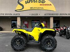 NEW 2017 Honda Foreman Rubicon POWER STEERING foot shift HIGHLIGHTER EDITION