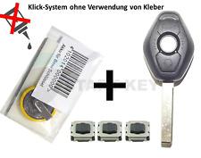 BMW Schlüssel Gehäuse Reparatur Set E39 E38 E46 E36 Z3 Key Cle Chiave HU58 Oval