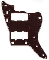 Genuine Fender Pure Vintage 4-Ply Pickguard, 65 Jazzmaster, Brown Tortoise Shell