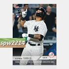 2018 Topps Now Gleyber Torres #247 Youngest in AL History to Homer 4 Consecutive