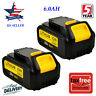 2XFor DeWalt 20V 20 Volt Max XR 6.0AH Lithium Ion Battery Pack DCB200-2 DCB206-2