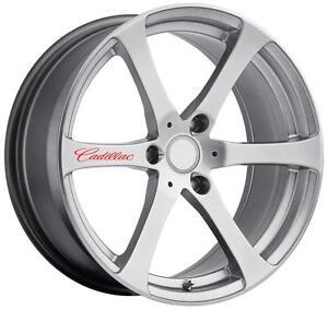 12 Colors 4 Cadillac Wheel Decal Sticker Emblem Logo Car Escalade ATS SRX CTS 03