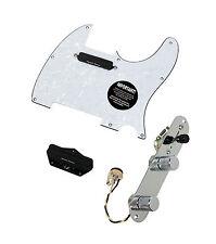 Fender Tele Telecaster Loaded Pre-wired Pickguard Duncan Hot Rails Pickups WP