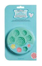 Kitchen Craft Fácil Presión silicona fondant molde Diseño de Rosas
