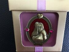 Rare Disney pin July Birthstone Ruby Framed Jessica Rabbit New in Box Rubies
