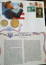 The 35th President The Legacy of John F. Kennedy Coin Stamp Collection