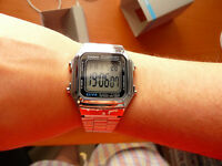 Casio digital watch unisex retro montre A178WEA-1AES silver orologio uhr reloj