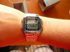 Casio digital watch unisex retro montre A178WEA-1AES silver orologio uhr reloj