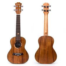 Kmise Concert Ukulele Uke Acoustic Hawaiian Hawaii Guitar 23 Inch 18 Fret Acacia