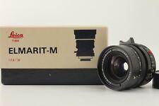 MINT!! Leica ELMARIT-M 28mm f/2.8 Ver iii 3 Lens W/box From Japan #320