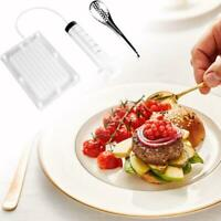 Caviar 100-hole Maker Molecular Gourmet Tools Caviar Box Strainer With Tube New