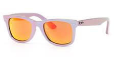 Authentic RAY-BAN Wayfarer 2140F - 611169 Sunglasses Metallic Oil  *NEW* 52mm