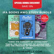 Ifa Books Awo Study Bundle (3 Books)