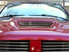GenXTrims 2004-06 Dodge Ram SRT10 Polished Billet Grille Overlay for Hood Scoop