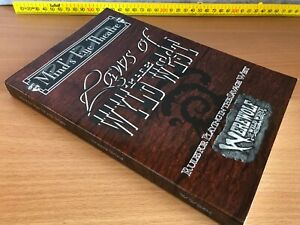 WEREWOLF Laws of THE WYLD WEST White Wolf Games Studio Book Mind's Eye Theatre