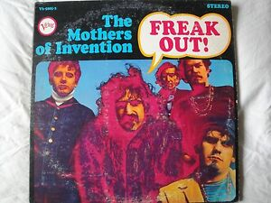 "THE MOTHERS OF INVENTION ""FREAK OUT"" 2X VINYL LP 1966 VERVE RECORDS 'HOT SPOT'"