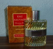 EAU SAUVAGE Christian Dior - Eau de Toilette Spray 50 ml (kein Splash)