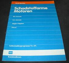 VW Passat  Audi 90 100 200 Syncro Quattro Schadstoffarme Motoren SSP 69