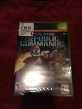 Star Wars Republic Commando *1st Print* (Xbox, 2005) *BRAND NEW/SEALED*