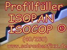 Profilfüller Sickenfüller Isodach für Isopan Isocop Isodeck®  40/250 Isogregata