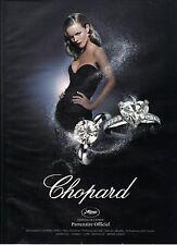 """PUBLICITE ADVERTISING  2010  CHOPARD """"le Solitaire"""""""