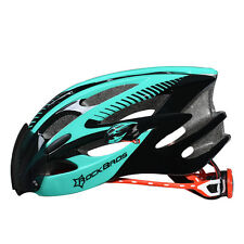 RockBros Cycling Helmets Road Bike MTB Riding Helmet With Black Goggle Size L/xl Green