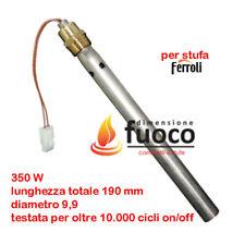 CANDELETTA  ACCENSIONE STUFE PELLET FERROLI CON TUBO CONVOGLIATORE D'ARIA - 1044