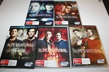 Supernatural The Complete Series 2,3,4,5 & 6 Dvds