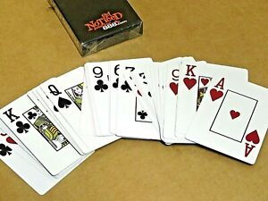 888.com Get Noticed Professional Poker Playing Cards All Plastic Large Symbols