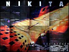 NIKITA Affiche Cinéma GEANTE 4x3 WIDE Movie Poster LUC BESSON 400x320
