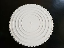 "Wilton - Decorative Separator Plate - White - 14"" Cake Decor"