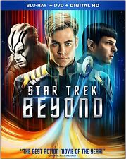 Star Trek Beyond (Blu-ray, 2016)  FREE FIRST CLASS SHIPPING