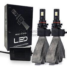 2x Fanless H16 5202 Canbus LED Fog Light Conversion Kit 6000K Super White Bulbs