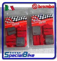 DUCATI 996 R 2001 > 2002 BREMBO SA SINTERED BRAKE PADS 2 SETS