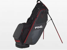 Ping Golf Hoofer Stand Bag Graphite Grey Black Red