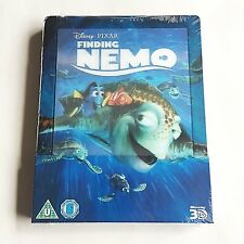 Disney Finding Nemo 3D Blu-ray Steelbook [Uk] W/Lenticular Magnet Design *Read*